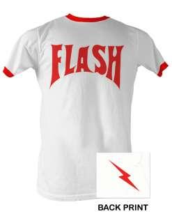 FLASH GORDON FLASH RINGER MENS TEE SHIRT S 2XL