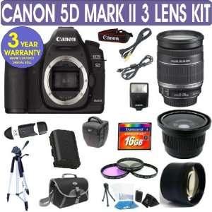 Canon EOS 5D MARK II + Canon 18 200mm IS Lens + .40x Fisheye Lens