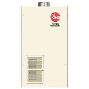 Rheem Tankless Water Heater RTG 74PVN 1, Indoor Use