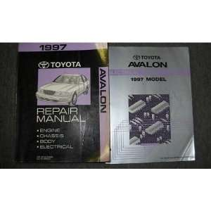 1997 Toyota Avalon Service Repair Shop Manual Set Oem (service manual