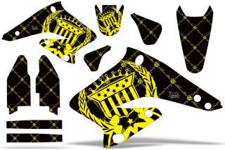 AMR GRAPHICS STICKERS KIT SUZUKI RMZ 250 Z250 04,05,06