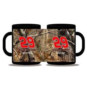 #29 Kevin Harvick Realtree Camo 15oz. Collector Mug: Home
