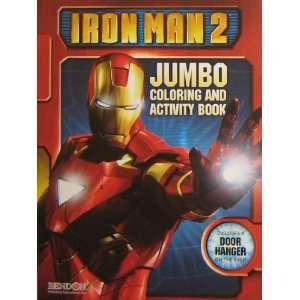 Iron Man 2 JUMBO Coloring & Activity Book Toys & Games
