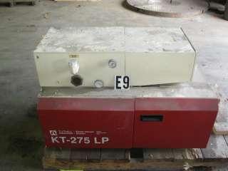 Kinney High Vacuum Pump KT 275 LP 15 HP Stage 2 8490 L/M 300 CFM