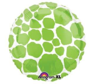 Green Giraffe Mylar Balloon Birthday Bridal Baby Shower Safari Jungle