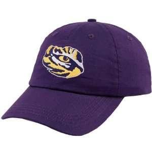 LSU Tigers Purple Eye Logo Hat
