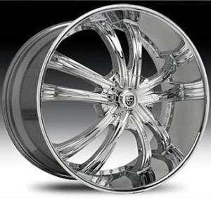 LSS 55 Wheel SET Chrome 5LUG 6LUG Lexani Rims for SUV Trucks RWD 30s