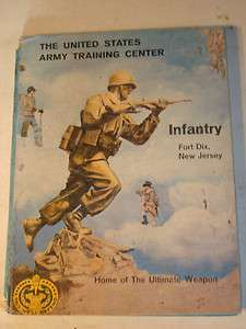 ARMY TRAINING CENTER INFANTRY FORT DIX N.J.   1962