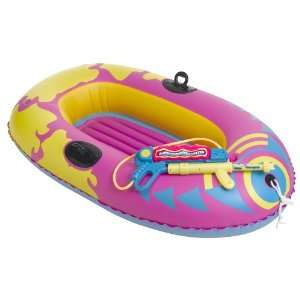 Sizzlin Cool Boat with Squirt Gun Toys & Games