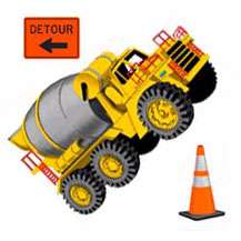BIG 23 CONSTRUCTION Boys WALL STICKERS Trucks DECALS