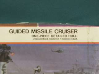 MONOGRAM U.S.S. CHICAGO Guided Missile Cruiser Model Kit # 3002