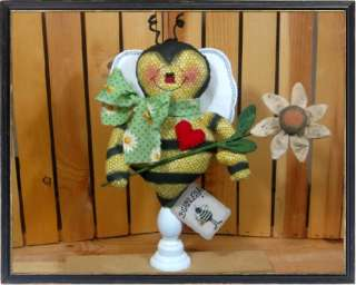 Primitive BUMBLES Bee Spindle Make Do PATTERN #524~