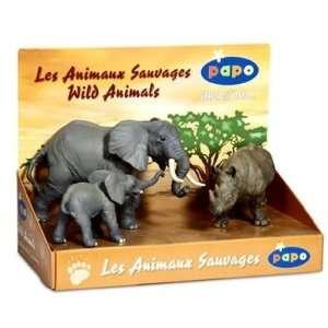 Papo 80002 Display Box Wild Animals 3: Toys & Games