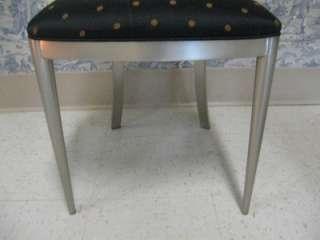 Allen Brushed Nickel Radius Art Deco Moderne Chairs 13 6420