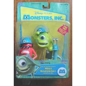 Disney Monsters inc, Top Scare Assistants Mike Wazowski, Frungus and
