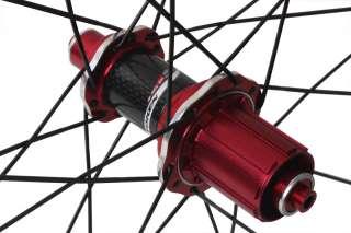 Token 700c Road Bike C30A Wheels Alloy Clincher 30mm Red Shimano