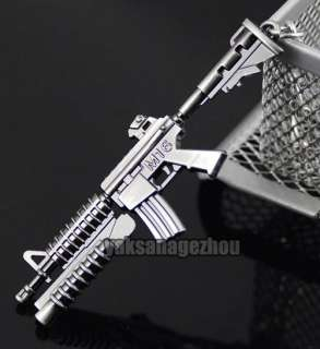 M16 Assault Rifle Grenade Launcher Gun Model KeyChain