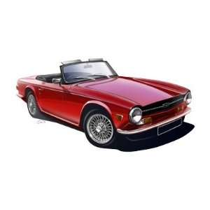 Triumph TR6 Mousepad: Office Products