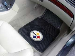 Pittsburgh Steelers 2 Pc Vinyl Car & Truck Floor Mats