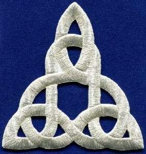 Celtic knot Irish goth biker tattoo retro magic applique iron on patch