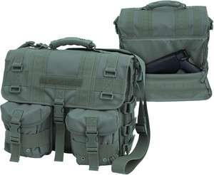 Bug Out Bag Conceal Carry Tactical Attache   Green (MSRP$90)
