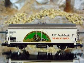 Marklin Mini Club 8600014 Chihuahua Mexican Beer Reefer Car OB
