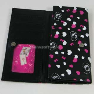 Lovely HelloKitty Girls Fashion Wallet Clutch Card Bag Purse Birthday