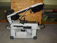 12 Horizontal Band Saw 1 Hp 115V 4 Speed Belt Drive USED