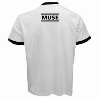 New The Muse Band Resistance Logo Ringer T shirt S 2XL