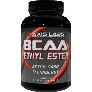 Axis Labs BCAA Ethyl Ester, 180 caps( Eight Pack) Health