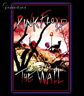 Pink Floyd The Wall TV Blacklight Reactive Poster