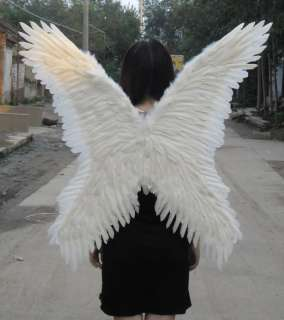 White Angel Feather Wings as Halloween 80cm×80cm