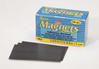 Business card size magnet sheets adhesive back flexible lot of 50 reheart Image collections