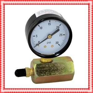 30 PSI Gas / Air Test Gauge Pressure 3/4 FPT Body