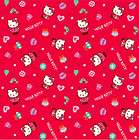 50th Anniversary Mix Characters Sanrio Hello Kitty 5 Paper Shopping