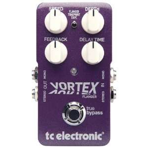 TC Electronic Vortex Flanger Guitar Effects Pedal Musical