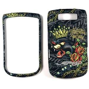 Ed Hardy Panther Blackberry Torch 9800 Faceplate Case