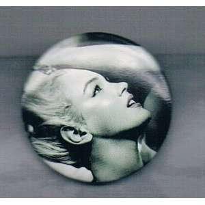 Marilyn Monroe Pushing Hair Back Pin (1.5 x 1.5)