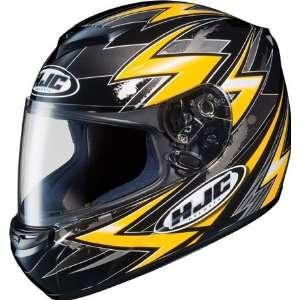 HJC CS R2 Thunder Full Face Motorcycle Helmet MC 3 Yellow XXL 2XL 210