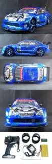 RC 1/10 drifting Drift Car Mercedes Benz AMG Blue RTR