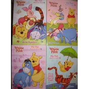 Big Fun Book to color Set of 4 (Its a Great Day to Play, Silly Time
