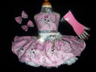 PAGEANT ~PUNK ROCK~ CASUAL WEAR/OOC OOAK! SPARKLEY! 2/4 $1.00 NR! BCB