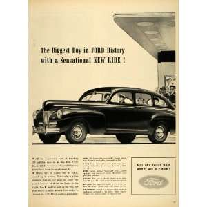 Buy in Ford History BIG Car   Original Print Ad