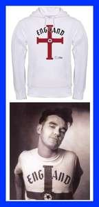 MORRISSEY ENGLAND THE SMITHS HOODIE t shirt 80S new