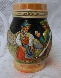 Vintage Traditional German Collectible Beer Stein Mug