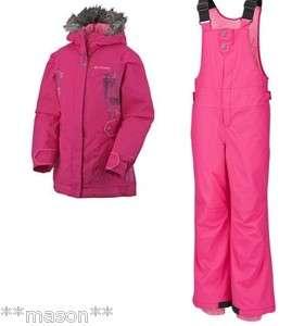 Columbia Omni Shield Bohemian Bliss Ski Jacket Coat Snow Pants
