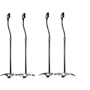 High Quality Black Speaker Stands Set of 4 Everything