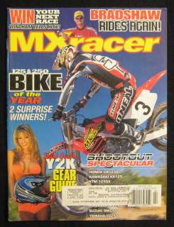 MX RACER Magazine February 2000 125cc Shootout