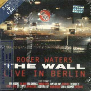 CD + DVD SET ROGER WATERS THE WALL LIVE IN BERLIN SEALED NEW