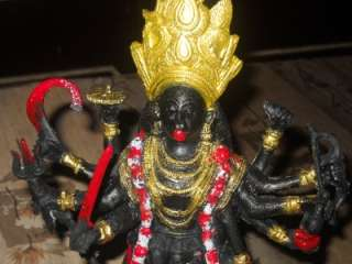KALI STATUE HINDU GOD 12 INCHES BIG HUGE LARGE